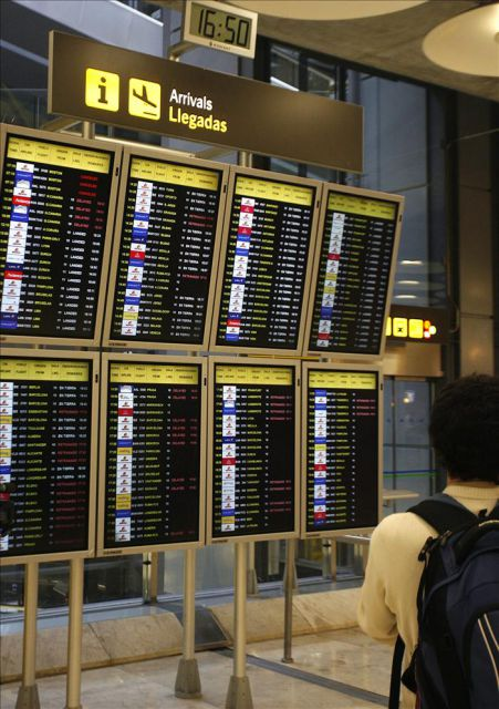informacion llegadas vuelos barajas: