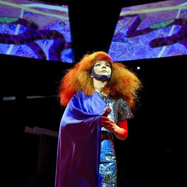 Björk vuelve con 'Biophilia', un proyecto multimedia