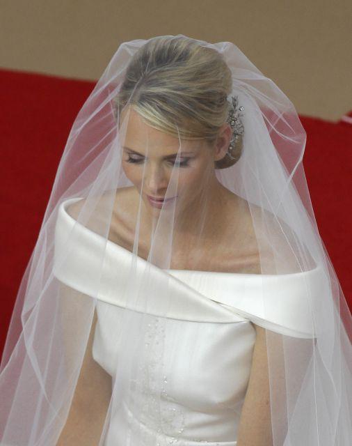 Boda Real en Mónaco: Charlene Wittstock, en el altar