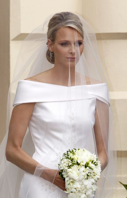 Boda Real en Mónaco: El vestido de novia de Charlene Wittstock