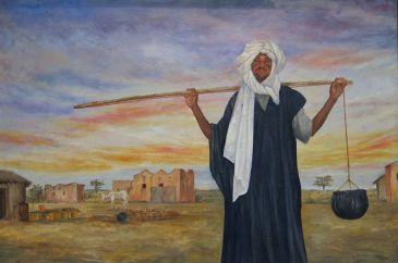 Inaugurada la exposición 'Encuentro' de Muñoz Bautista para concienciar sobre la situación de Mauritania