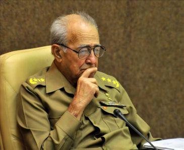 Cuba decreta duelo oficial por la muerte del ministro de las Fuerzas Armadas