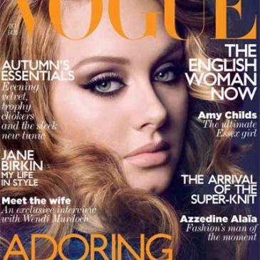 Adele será portada de la Vogue inglesa de octubre