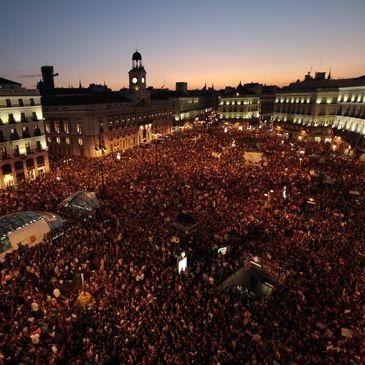 15O: Sol clama indignada por una democracia mejor