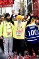 Centenario corre la maratón de Toronto: Fauja Singh celebra el fin de la carrera