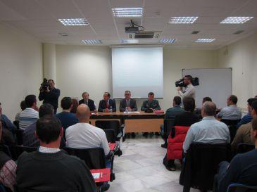 Un curso de tres días de transporte de mercancías peligrosas reúne a 34 Guardias Civiles y Policías Nacionales en Murcia