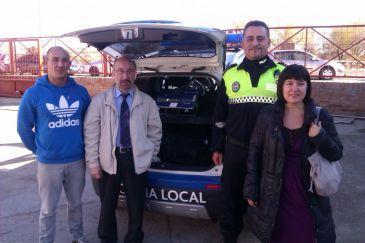 La jefatura provincial de tr fico entrega un etil metro de - Jefatura provincial de trafico madrid ...