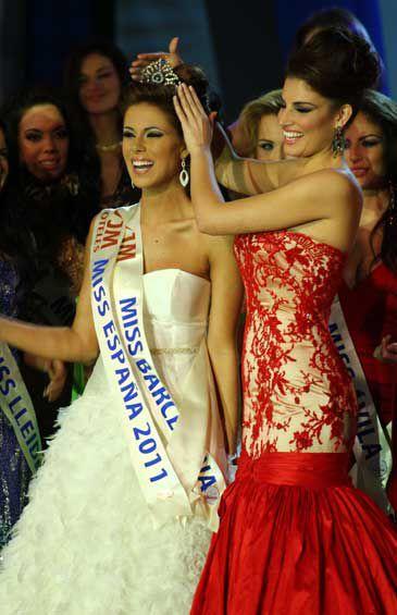 """Miss España 2011 (Andrea Huisgen): """"He renunciado al amor para conseguir la corona"""""""