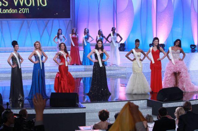 Las siete finalistas de Miss Mundo 2011