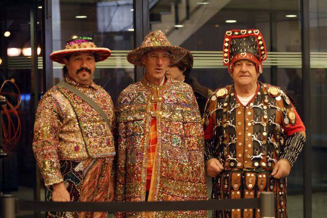 disfraces originales en el sorteo de la lotera de navidad