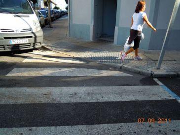 Ayuntamiento prepara un proyecto para adaptar todas las aceras del municipio a la normativa de accesibilidad