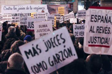 El movimiento 15M apoya al juez Garzón y dice que el Supremo no representa al pueblo