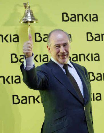 Rodrigo Rato dimite como presidente de Bankia