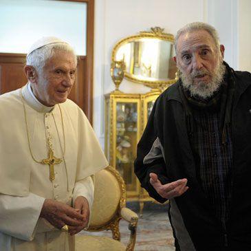El Papa se reunio con Fidel en Cuba