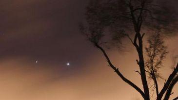 Conjunción de Venus y Júpiter, esta noche... consejos para verla mejor