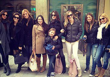 Las mujeres del Real Madrid, juntas en Múnich, a la luz en el Twitter de Nagore Aranburu
