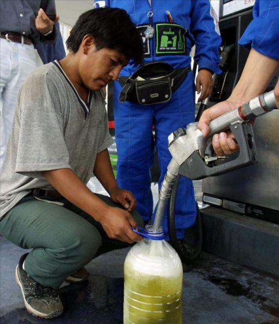 La esfera de Irkutsk el coste de la gasolina