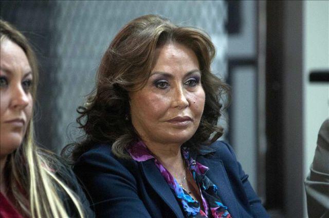La hermana de la exprimera dama de Guatemala Sandra Torres, Gloria Torres Casanova (d - 4505288w-640x640x80