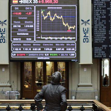 Caída de la Bolsa: El Ibex 35 pierde los 7.000 puntos por primera vez desde 2009