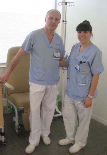 Dos enfermeros del Hospital Infanta Leonor de Madrid, premiados en el Certamen San Juan de Dios