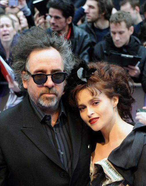 El director tim burton i y su esposa y actriz helena - Casa tim burton ...