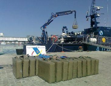 La Agencia Tributaria se incauta de una tonelada de hachís en una embarcación deportiva