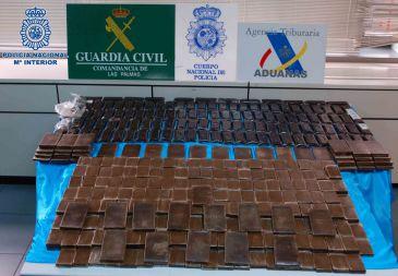 Policía Nacional desarticula una organización de tráfico de seres humanos y estupefacientes en Canarias