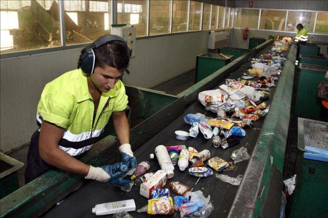 Planta de selecci n de residuos s lidos urbanos