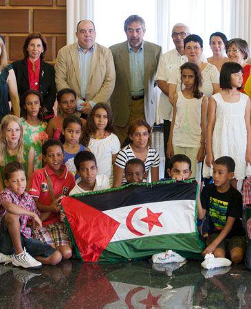 Unas 'Vacaciones en Paz' para los niños Saharauis