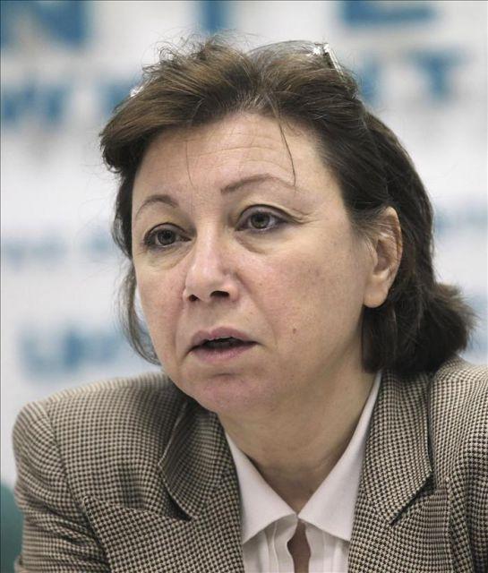 En la imagen, Bassma Kodmani, representante del Consejo Nacional Sirio (CNS). EFE/Archivo