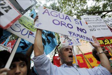 Juez argentino suspende la actividad en el yacimiento de Osisko por la ley ambiental