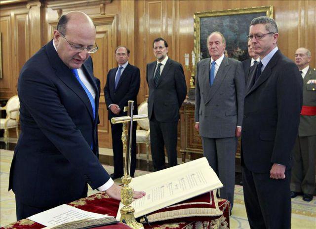 El nuevo presidente del tribunal de cuentas ram n lvarez for Nuevo ministro de interior y justicia