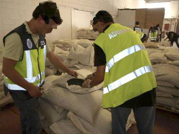 Incautados 51 kilos de cocaína ocultos en un contenedor en el puerto de Valencia
