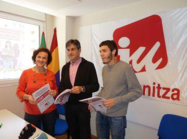 Arana se muestra convencido de que Ezker Anitza-IU tendrá grupo propio en el Parlamento vasco
