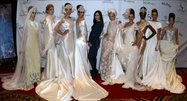 Zapardiez celebra diez años en la moda nupcial sobre la pasarela neoyorquina