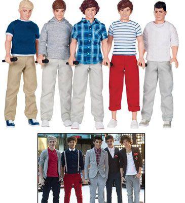 Los One Direction, convertidos en muñecos de plástico que se venderán estas navidades