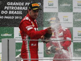 GP de Brasil: Alonso no logra coronarse en Interlagos