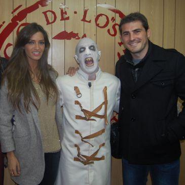 Sara Carbonero e Iker Casillas se mueren de miedo en el circo