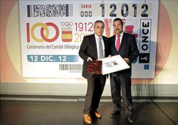 La ONCE celebra el centenario del COE con cinco millones de cupones el día 12