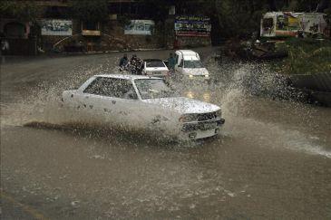 Israel paralizado por el peor temporal en el país desde hace una década