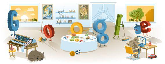 Feliz Año 2013: El doodle de Google para recibir el año