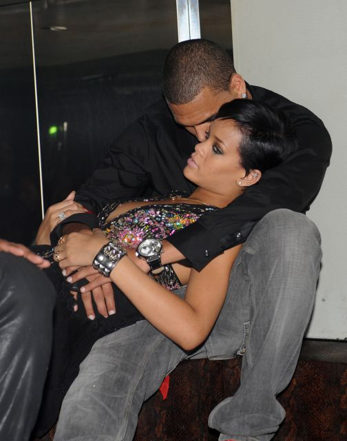San Valent�n 2013: Rihanna y Chris Brown