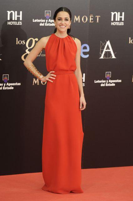 Alfombra Roja de los Premios Goya 2013: Macarena García