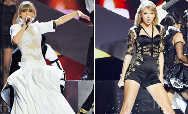 Brit Awards 2013: Taylor Swift se desnuda frente a Harry Styles en mitad de la actuaci�n