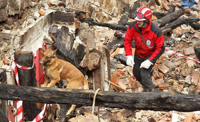 Bermeo recogerá 750 toneladas de escombro del incendio este fin de semana