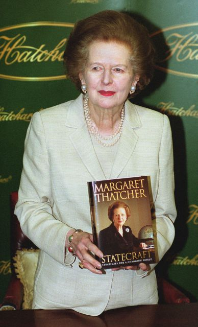 a literary analysis of statecraft by margaret thatcher Her decision provoked a storm of protest from labour and the press, leading to her being notoriously nicknamed margaret thatcher statecraft: strategies for a.