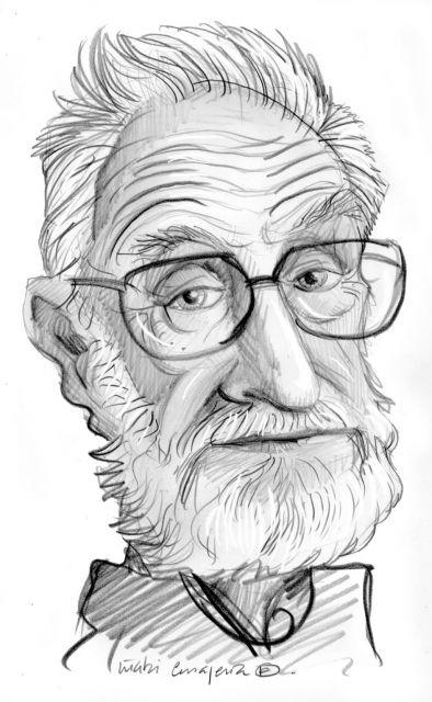 Caricatura de jos luis sampedro qu es - Arquitectos famosos espanoles ...