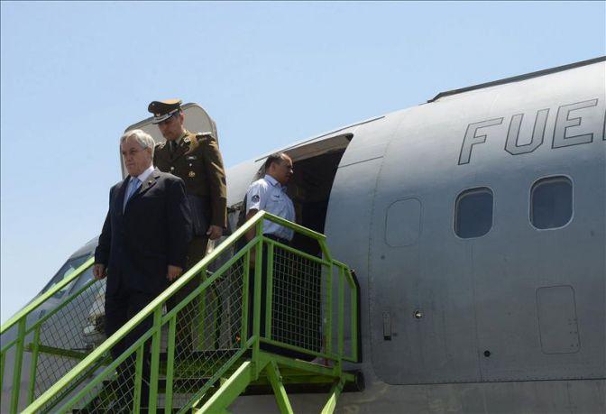 Piñera inicia una gira que incluye una entrevista con presidente Barack Obama