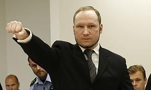 Breivik renuncia a recibir la herencia de su madre fallecida