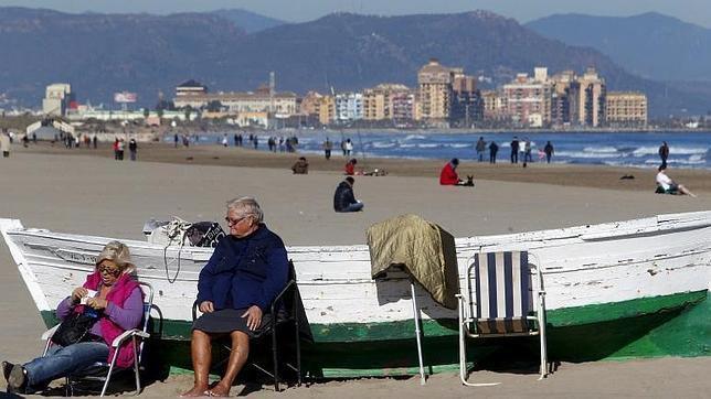 Las temperaturas subirán este domingo en buena parte de la Península